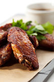 BBQ Chicken Wings Royalty Free Stock Images
