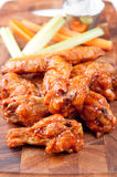 Bbq chicken wings. Oven roasted bbq chicken wings healthy baked instead of fried Royalty Free Stock Photography