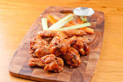 Bbq chicken wings. Oven roasted bbq chicken wings healthy baked instead of fried Stock Image