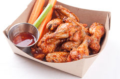 Bbq chicken wings Royalty Free Stock Photo
