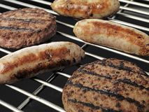 BBQ close up Stock Photography