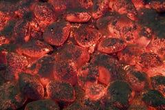 BBQ Coals Royalty Free Stock Image