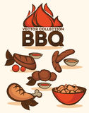 BBQ collection Stock Image