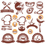 BBQ collection Royalty Free Stock Photography