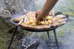 BBQ concept. Stock Photography