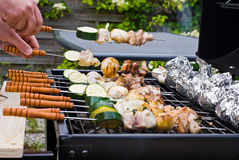 BBQ Cooking Stock Photography