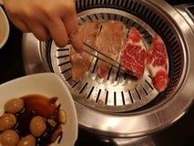 BBQ coréen photographie stock