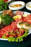 BBQ coreano Fotografia Stock Libera da Diritti