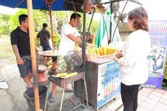 BBQ Corn seller Bali Indonasia Stock Images