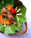 BBQ da galinha Fotografia de Stock
