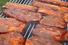 BBQ da grade Imagem de Stock