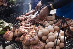 BBQ da rua Imagens de Stock Royalty Free