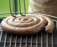 BBQ da salsicha Fotografia de Stock Royalty Free