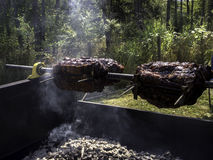 BBQ de boeuf de rôti Photo stock