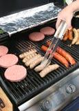 BBQ de Cajun Imagens de Stock