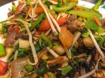 BBQ de mongolian photos stock