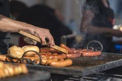 Bbq del barbecue Immagini Stock