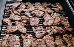 BBQ della bistecca Fotografia Stock