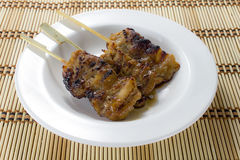 BBQ della carne di maiale immagine stock libera da diritti
