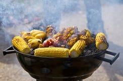 BBQ della verdura Immagine Stock Libera da Diritti