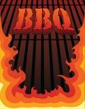 BBQ Design Royalty Free Stock Photo