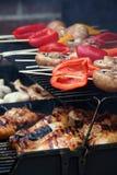 BBQ di estate Fotografie Stock