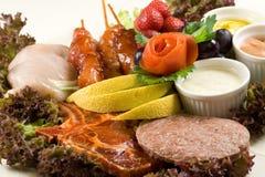BBQ dish Royalty Free Stock Image