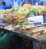 BBQ do alimento da rua Imagens de Stock