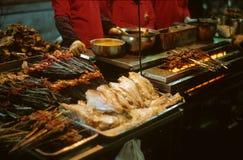 BBQ en Chine du nord-ouest Photo stock