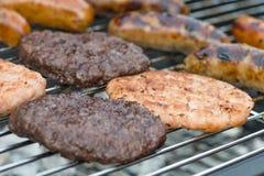 BBQ esotico della carne immagini stock