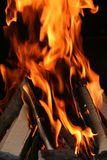 BBQ Fire. Image of barbecue's fire Stock Image