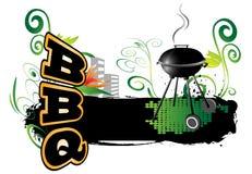 BBQ, fundo Fotografia de Stock