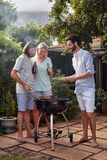 Bbq garden party Stock Image