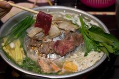 BBQ & Gorący garnek zdjęcie royalty free