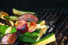 bbq-grönsaker royaltyfri foto