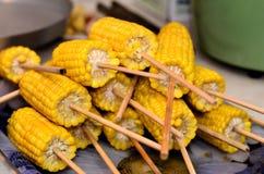 BBQ graanvleespen Stock Foto's
