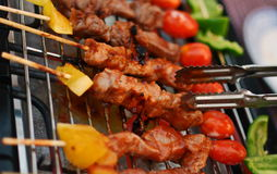 BBQ grelhado Foto de Stock Royalty Free