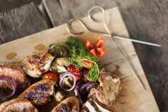 BBQ Grill Stock Photography