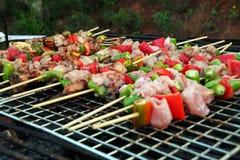 BBQ grill royalty-vrije stock afbeeldingen