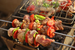 Free BBQ Grill And Glowing Coals Stock Photos - 48014533