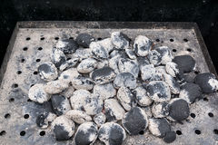 BBQ Grill - charcoal Royalty Free Stock Photo