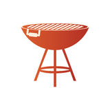 BBQ grill isolated. Icon  illustration graphic design Stock Image
