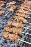 BBQ grill of meat Royalty Free Stock Photography