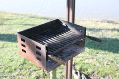 BBQ Grill Rusted Stock Photography