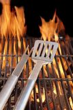 BBQ Grill and Tools Royalty Free Stock Image