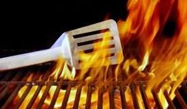 BBQ Grill and Tools Stock Photography