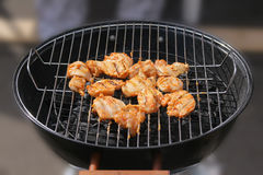 BBQ grilled chicken breasts Royalty Free Stock Photography