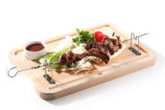 BBQ and Grilled Mutton Stock Images