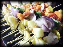 BBQ groente Royalty-vrije Stock Foto
