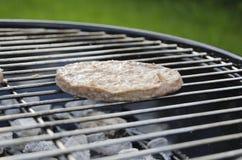 BBQ hamburgery Zdjęcia Stock